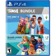 Sims 4 Bundle Island Living Expansion Ps4 Fisico Sellado Cd