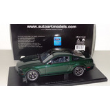Ford Mustang Bullit Gt 2008 Escala 1 18 Marca Autoart