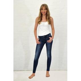 Jeans Cheche Elasticado Pitillos Talla 38 X3 + Envio