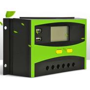 Regulador De Carga Para Paneles Solares Fotovoltaicos 40 Amp