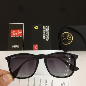 Óculos De Sol Ray Ban 1187 Chris Preto L. Azul Degradê - Óculos no ... da4a8dc1c5