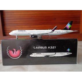 Avion A321-200 Con Sharklets De Volaris Xa-vlz Escala 1:400