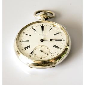 6f489da142b Antigo Relógio De Bolso Longines Grandprix Paris 1900 1267 ...