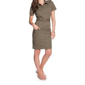 Vestido, Lacoste, Mujer, Gabardina Elastizada, Ef11209