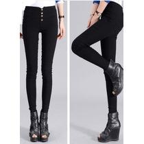 Pantalon Lapiz Leggings Importado Stretch Slim