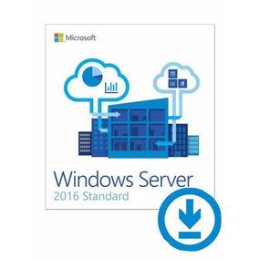 Windows Server 2016 Standard + 50 Cal User - Original + Nf-e