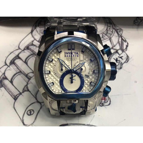 Relógio Invicta Bolt Zeus Magnum 20112 Prata Azul Kadu