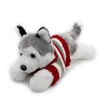 Vintoys Husky Siberiano En Red Camiseta De Mentira Cachorros