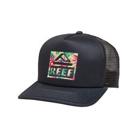 Gorra Reef Snapback One Size Original Malla Black