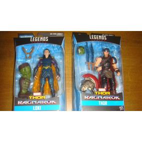 Lote 2 Marvel Legends Thor E Loki Ragnarok Baf Hulk Novo