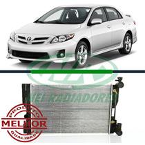 Radiador Toyota Corolla 1.6 8v / 1.8 16v 09 - 13 Aut Com Ar