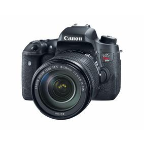 Camara Canon Eos T6s + Lente Ef 18-135 Stm