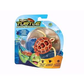Robo Turtle Tartaruga Robótica Realística Dtc 2 Unidades