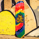 Shape Skate Barato Original Woodlight Eight Tye Die