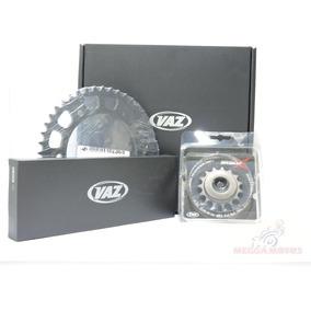 Kit Relação Transmissão Vaz Xtreme Fazer 250 Reforçada 428h