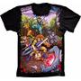 Camiseta Thundercats Anime Estampada Frente Anime Desenho