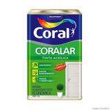 Tinta Coral Coralar Acrilico Lata 18 Litros Cor Branco Gelo