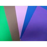 Foami Tamaño Carta Colores Surtidos