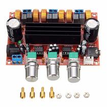 Kit Placa Amplificador 2.1 50w+50w + 100w Subwofer