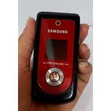 Celular Samsung Gt M2310 Fliper Pequeno Viso Externo Music