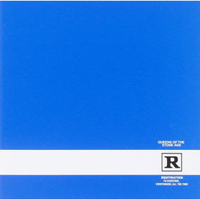 Queens Of The Stone Age Rated R Uk Importado Cd X 2 Novo