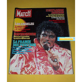 Michael Jackson Revista Paris Match 1984 Envio Gratis
