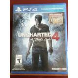 Pelicula Para Play 4 Uncharted 4