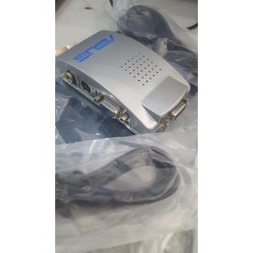 Convertidor Vga A Rca S-video Conecte Pc Laptop Tv Proyector