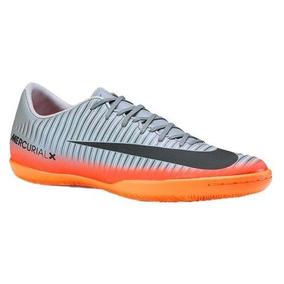 Chuteira Nike Mercurial Cr7 Dourada - Chuteiras Nike Prateado no ... 1d70b02716962
