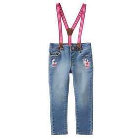 Pantalon Con Tiradores Jean Nena Oshkosh Importado