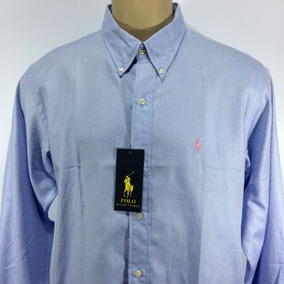 Camisa Social Masculina Ralph Lauren Slim Fit Luxo