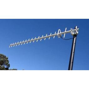 Antena Yagi Gsm 3g Telcel P/ Telefono Fijo Tip C/ 60mts Cabl