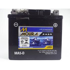 Bateria Moto Moura Ma5-d Titan150 Mix09 /bros150 /xre300 Nf