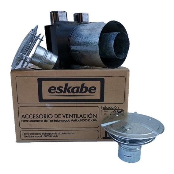 Ventilacion Modelo Tbu Calefactor Eskabe 5000 Calorias