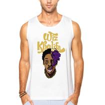Camisa Camiseta Regata Wiz Khalifa Taylor Gang Swag