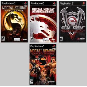 Patch Mortal Kombat Collection Para Ps2 Leia A Descrição