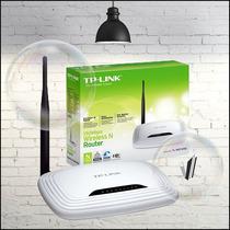 Router Tp-link N 150mbps Tl-wr741nd 1 Antena Desmontable