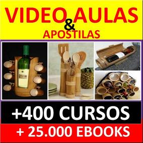 Curso Artesanato Em Bambu Video Aulas +400 Cursos