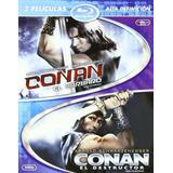 Blu-ray Conan El Barbaro + Conan El Destructor / 2 Films