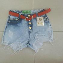 Shorts Jeans Col Coleção 2016