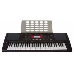 Teclado Musical Arranjador 61 Teclas Fonte + Porta Partitura
