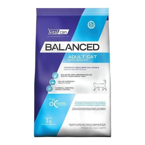 Alimento Vitalcan Balanced para gato adulto sabor  mix en  bolsa de 2kg