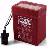Bateria Carros Y Cuatrimotos Fisher Price Power Wheels 6 Vol