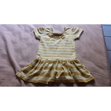 Vestido Dourado Infantil Menina Campinas/sp.