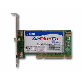 Placa Pci Wireless D-link Airplus Xtreme G+ Dwl-g520+