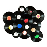 Paquete 5 Discos De Vinil Acetato Oferta Para Decoracion Lp