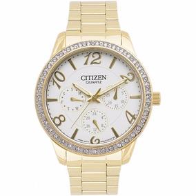 Reloj Citizen Ed812259a Multifuncion Am Pm Dia Fecha