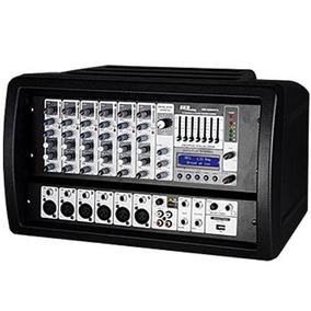 Mesa De Som Amplificada Crx 626 Mp3 Skp