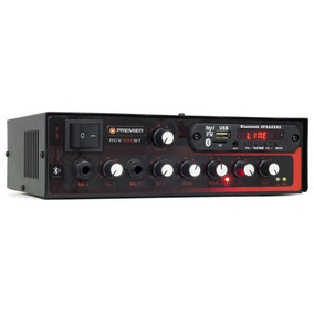 Receiver Som Ambiente Rcv300bt Bluetooth, Usb E Sd 300 Wrms