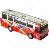 Colectivo Bus A Fricción De Juguete Omnibus Micro